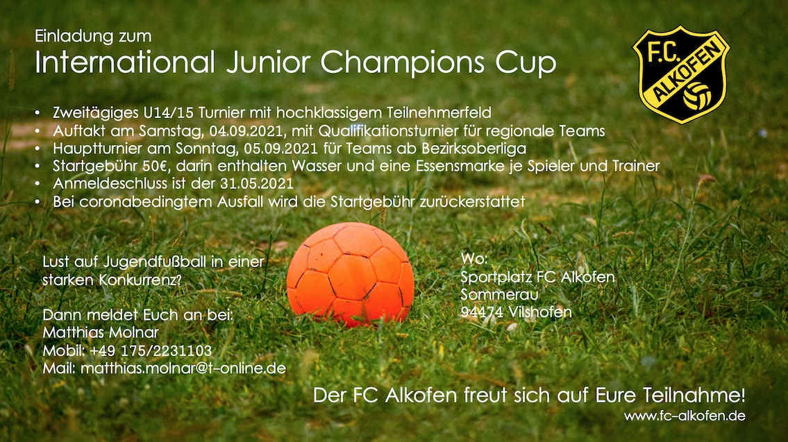 2021 International Junior Champions Cup