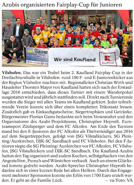 Kaufland Fairplay Cup